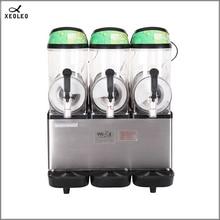 XEOLEO трехтанковая машина 12 л* 3 Коммерческая полностью автоматическая машина для таяния снега с большой емкостью 220 В машина для приготовления холодных напитков