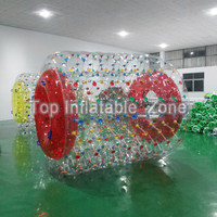 2019 Best Selling Inflatable Water Toys PVC/TPU Material Inflatable Water Roller For Sea Factory Price Inflatable Water Wheel