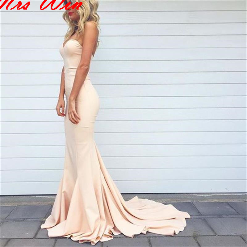 Simple sweetheart mermaid sexy junior cheap long special for Wedding dresses for large breasts