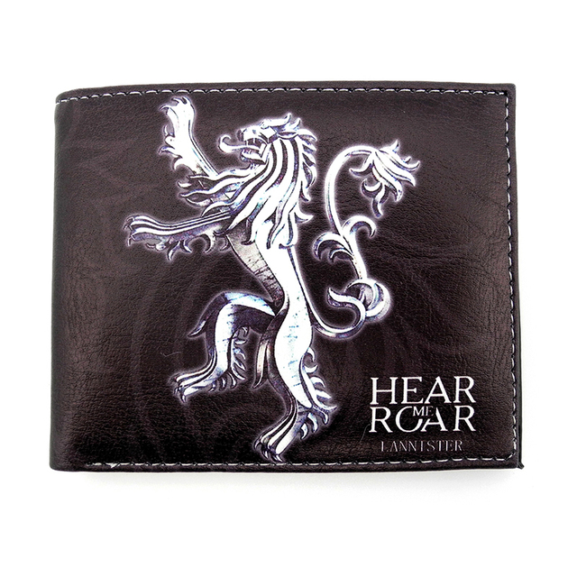 New Synthetic Leather Game of Thrones Wallets