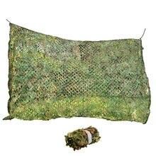 Многоразмерная прочная Полиэстеровая ткань+ канатная сетка 2 слоя Лесной камуфляж джунгли листья гардон ПЭТ Солнцезащитная сетка автомобильный оттенок покрытия