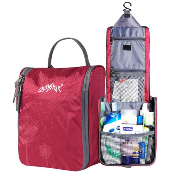 Fashion hot sale waterproof nylon cosmetic case large capacity casual organizer bag men/women toiletry bag -A