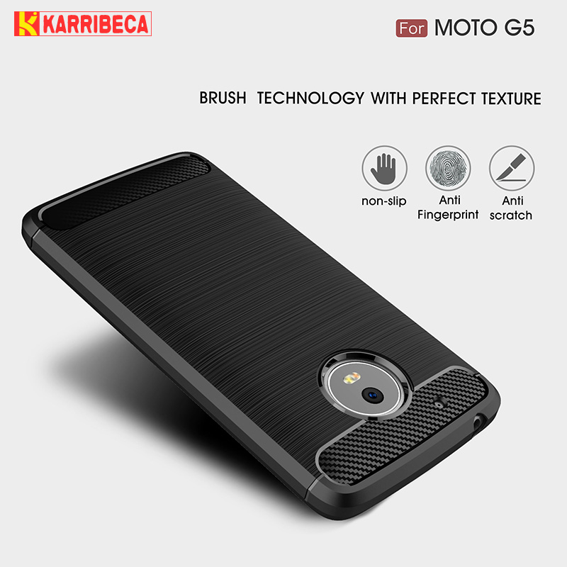 carbon fiber tpu case moto g5 (2)