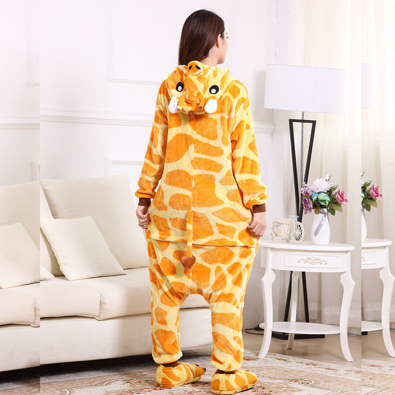 Giraffe adult onesie women