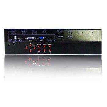 4x2 hdmi video wall processor for led tv video wall hdmi output vga dvi hdmi usb input