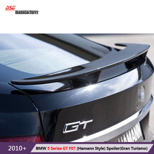 F07 углеродного волокна задний багажник загрузки спойлер автомобиля крыло для bmw 5 серии gt f07 530d gran turismo 535d 535i 550i аэродинамические части тела