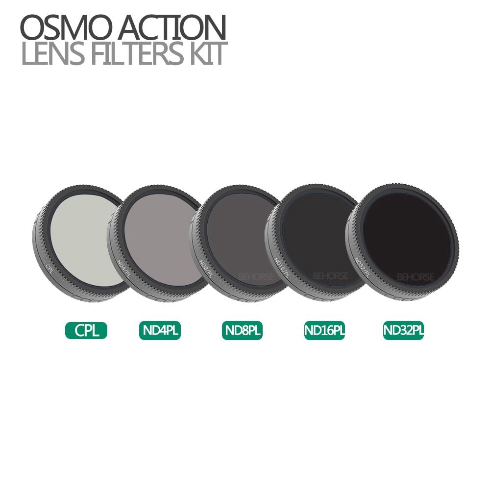 Optional DJI OSMO ACTION Camera Lens Filter Set CPL ND4-PL ND8-PL ND16-PL ND32-PL Optical Glass for DJI Osmo Action AccessoriesOptional DJI OSMO ACTION Camera Lens Filter Set CPL ND4-PL ND8-PL ND16-PL ND32-PL Optical Glass for DJI Osmo Action Accessories