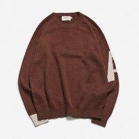 2018 Акция пуловер Для мужчин sudaderas Sage ящерица осень зима Для Мужчин's Новый свитер Алфавит печати круглый воротник Длинные рукава