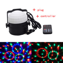 18W multicolor Magic Ball spot light holiday lamp can be used in your stage/party/disco/event/dj/Christmas/shop decoration