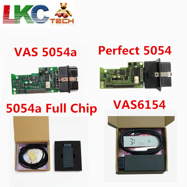 Best Offers Best Quality ! VAS 5054a with OKI Full Chip Bluetooth Adapter Support UDS OBD OBD2 Car Diagnostic detector TooL
