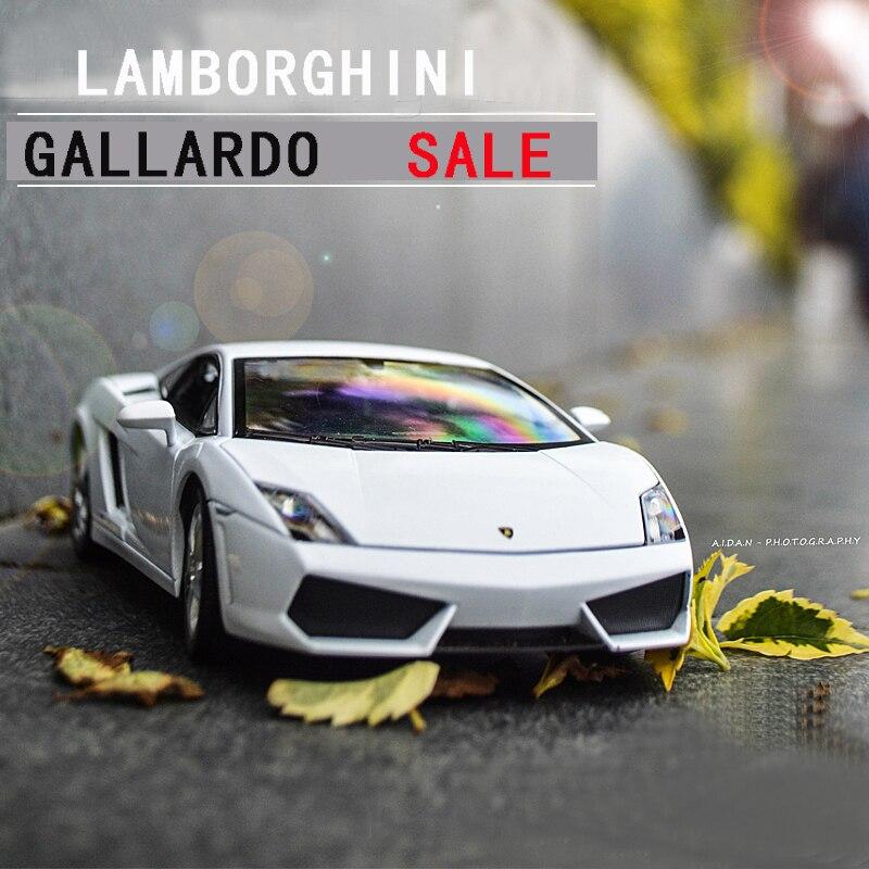 SAINTGI Gallardo Super Cars Toy Reventon Automobili S.p.A Gallardo Miura Classical 1:24 Diecast Metal Miniature Model car automobili lamborghini automobili lamborghini au007emion16