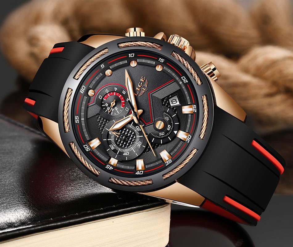 LIGE Reloj deportivo 9