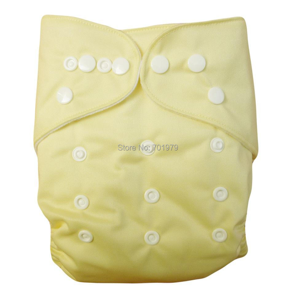 (15 pieces/lot) 2020 ALVABABY Solid Color with Cloth Diapers Baby with Microfiber Inserts (with 15pcs inserts)