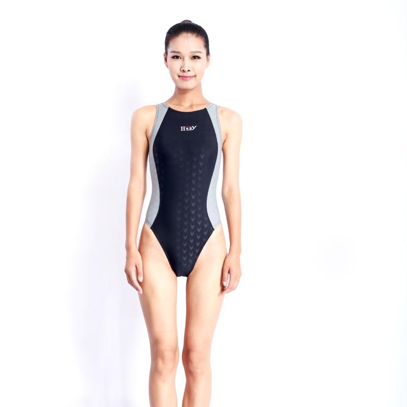 HBXY yüksək keyfiyyətli bir parça yarış müsabiqəsi suya - İdman geyimləri və aksesuarları - Fotoqrafiya 4