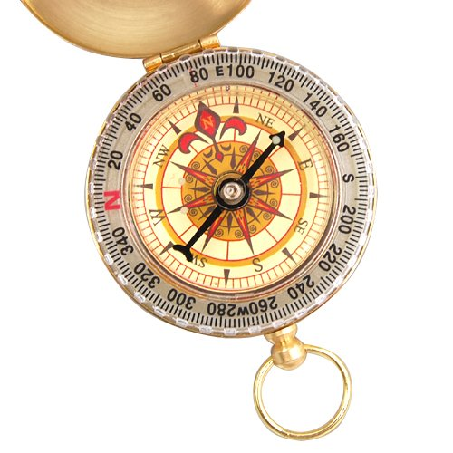 YCYS Portable Brass Pocket Golden Compass Navigation Outdoor Tools Gift вытяжка gorenje wht621e3xbg нержавеющая сталь