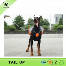 TAILUP luxury Pet Outdoor Backpack Large Dog Adjustable Saddle Bag Harness Carrier For Traveling Hiking Camping