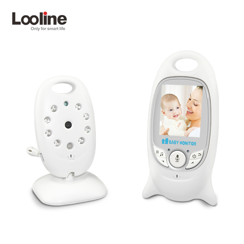 Infant 2.0 Inch Wireless Color Baby Monitor Baby Nanny Security Camera Baby Radio Babysitter Baby Camera Temperature Monitoring wireless 2 4 lcd color baby monitor high resolution lullabies kid nanny radio babysitter night vision remote camera newborn gift
