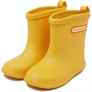 Image 2 - Çocuklar çocuk kauçuk yağmur çizmeleri kız erkek çocuk ayak bileği Rainboots su geçirmez ayakkabı yuvarlak ayak su ayakkabısı yumuşak kauçuk ayakkabı