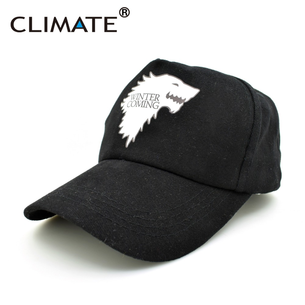 CLIMATE Hot TV Game Of Thrones House Of Stark Targaryen Dire Wolf Winter Is Coming Adjustable Hat Baseball Caps Men Women Unisex suh jude abenwi the economic impact of climate variability