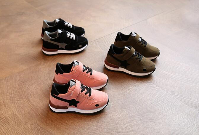2018 spring new children canvas shoes boys' fashion sneakers Brand Kids Shoes for Girls casualshoes hobibear classic sport kids shoes girls school sneakers fashion active shoes for boys trainers all season 26 37