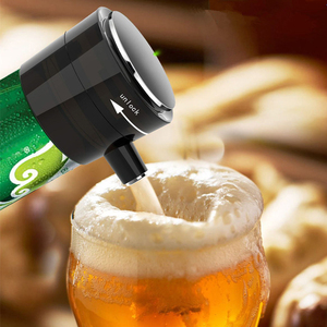 Image 5 - Tragbare 2 in 1 Ultraschall Elektrische Hohe Geschwindigkeit Oxygenation Wein Decanter & Bier Bubbler für Rotwein Konserven bier Im Freien Werkzeuge
