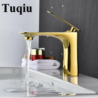 New arrival white/chrome/gold/red/orange/black finished bathroom single lever hot and cold sink faucet basin tap mixer