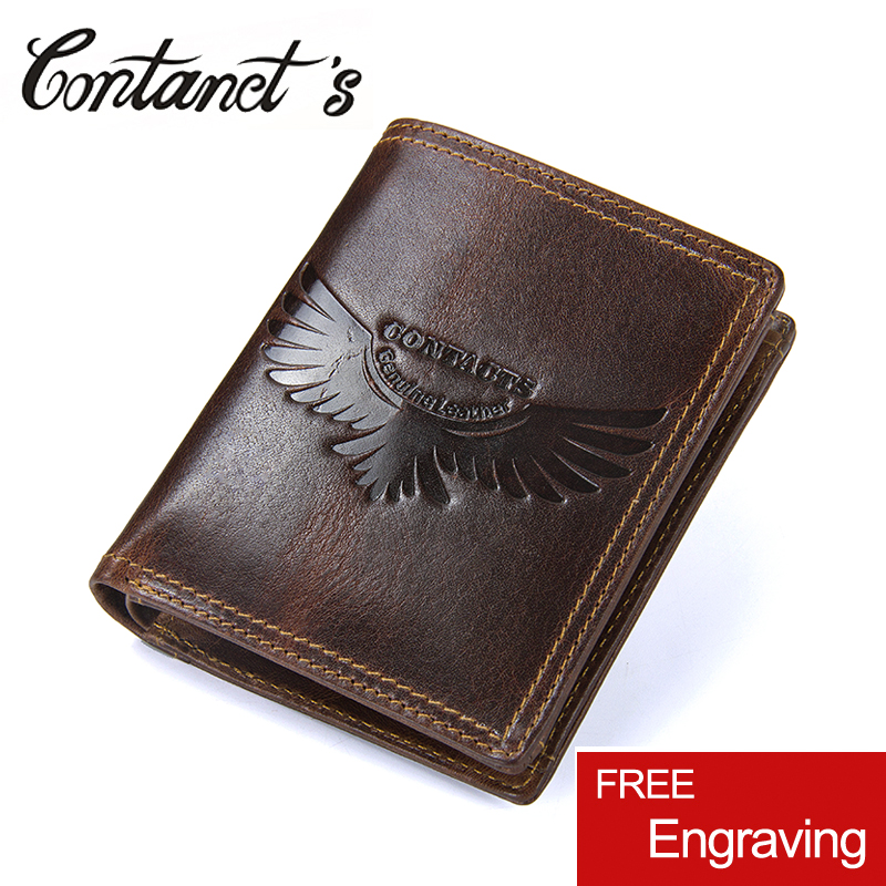 Small Vintage Bag Genuine Leather Men Wallets Coin Pocket Short Wallet With Zipper Multifunctional Money Purse For Card Holder contact s fashion small wallet women genuine leather coin purse short wallets for ladies zipper pocket deisgn cards holder bag