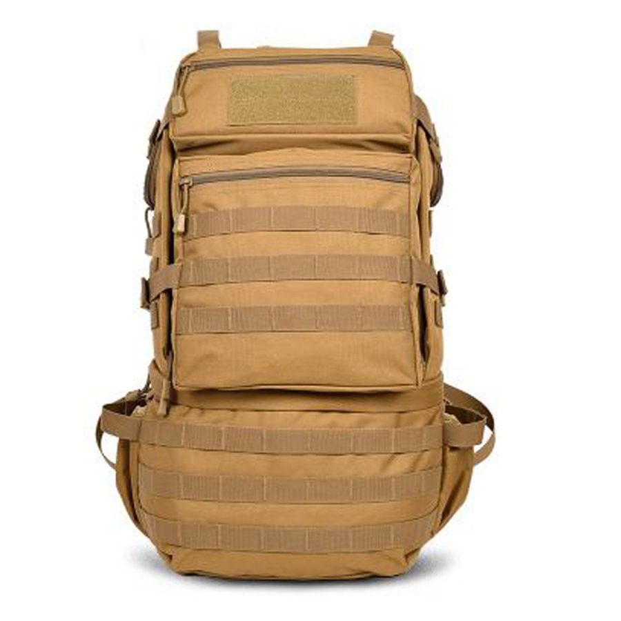 <font><b>50L</b></font> Outdoor Backpack Molle Military Tactical Backpack <font><b>Mochila</b></font> <font><b>Militar</b></font> Rucksack Waterproof Camping Hiking Backpack For Travel image