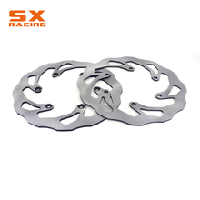 цена на Motorcycle Front & Rear Brake Disc Rotor For YAMAHA YZ125 YZ250 YZ250F YZ450F YZ250X YZ250FX WR250F WR450F Dirt Bike