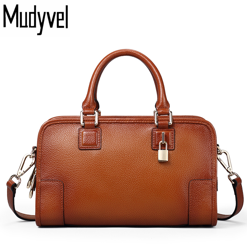 Fashion Designer Brand luxury Women Handbags 100% Genuine Leather Cowhide ladies Shoulder bags tote Bag Vintage Messenger Bag 100% genuine leather women messenger bags nature cowhide ladies shoulder tote bags female handbags yx04