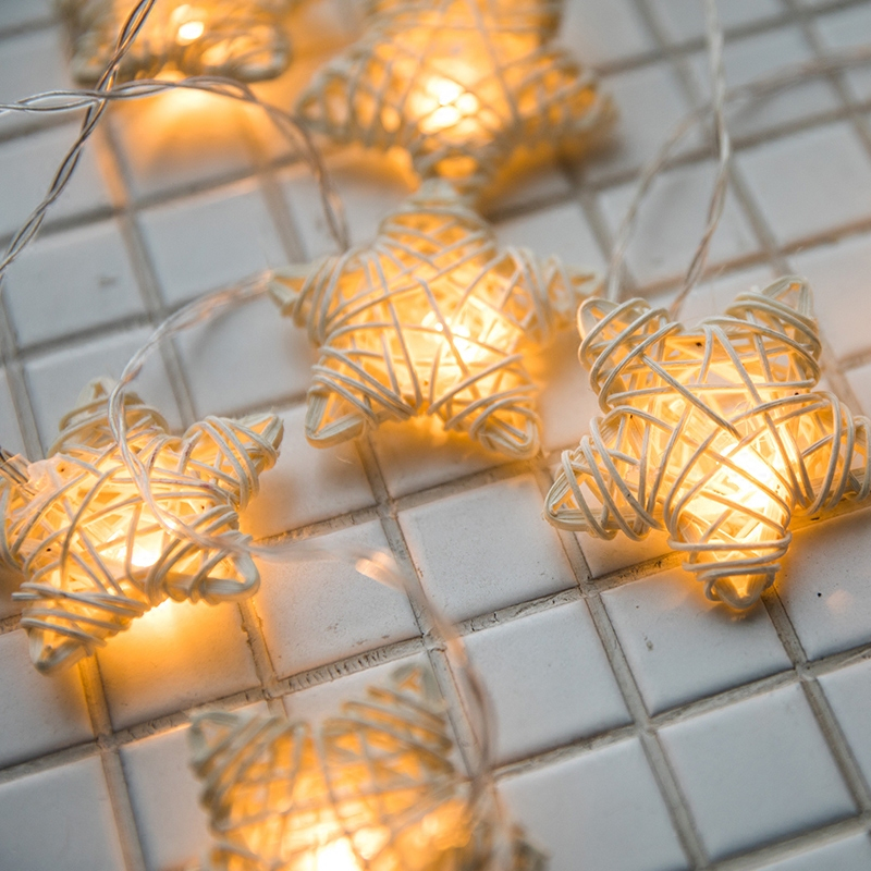 Hand made vines star string light for wedding decor home outdoor hand made vines star string light for wedding decor home outdoor christmas tree decorations diy new year christmas lights indoor in holiday lighting from aloadofball Choice Image