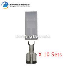 10 PCS 1pin Waterproof connector DJ70114A-6.3-21 Car modification plug / harness