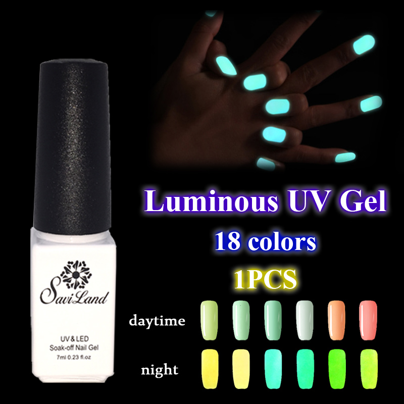 Aliexpress Buy Saviland Uv Nail Gel Lacquers Fluorescent