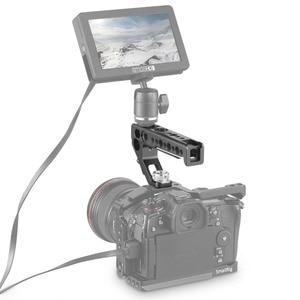 Image 4 - Smallrigデジタル一眼レフカメラトップハンドルグリップサイドarri位置とハンドル15ミリメートルロッドクランプarri位置穴カメラスタビライザー2165