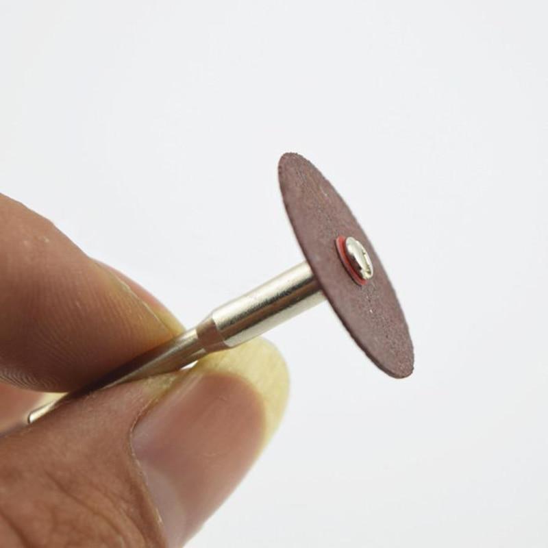 Dischi abrasivi 36pcs lame rotanti levigatrici rotanti dremel mini - Utensili abrasivi - Fotografia 4