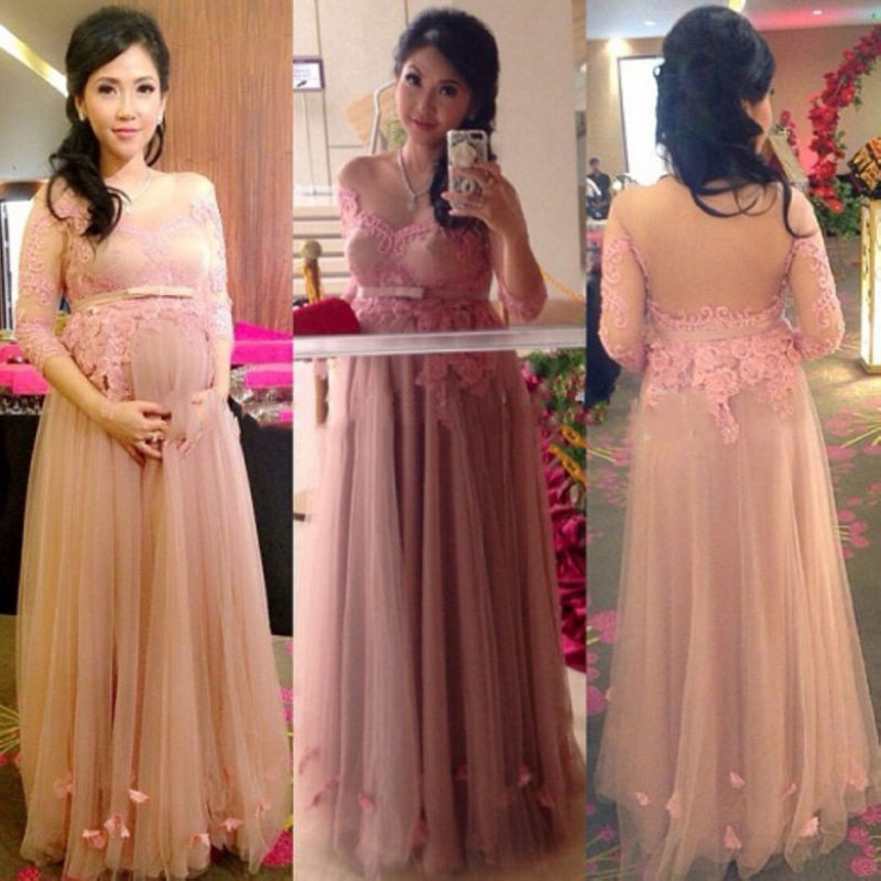 Popular Light Pink Maternity Dress-Buy Cheap Light Pink Maternity ...