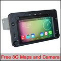 6.2 polegada Touchscreen Capacitivo Puro Android 5.11 os Quad-Core GPS DVD Player Do Carro para ALFA ROMEO 3 com G/WIF/DTV/Radio/BT