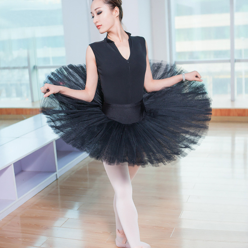 New Professional Ballet Tutu Skirt Classical Dance Costume For Women Tutus Adult Female Ballet Tutu Adulto Ballerina Accessories in Ballet from Novelty Special Use
