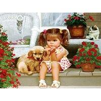 สาวน้อยกับสุนัข5D DIY