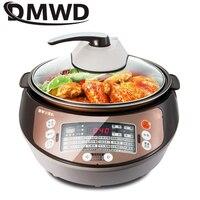 DMWD 5L Универсальный умный робот Электрический автоматический приготовление пищи машина смарт плита для готовки мультяшная чашка Wok антипри
