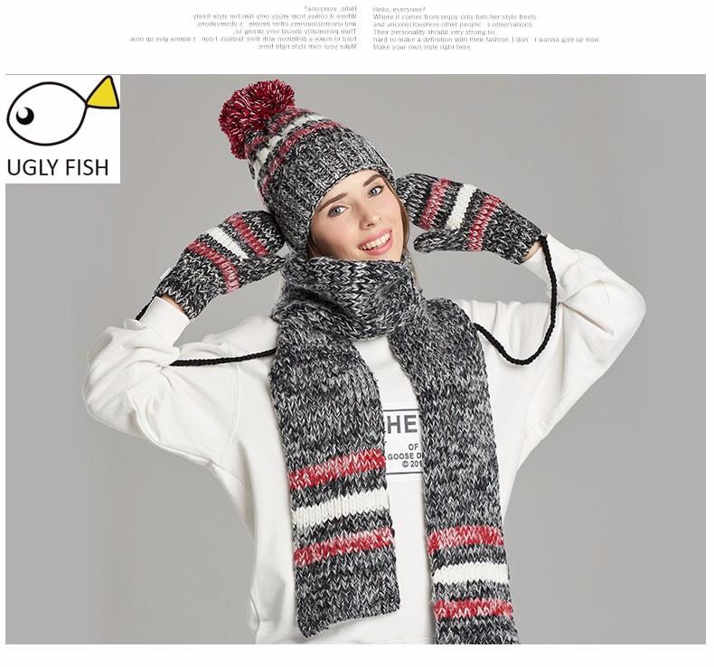 hat scarf glove set (4)