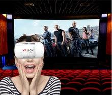 2016 Googleกล่องVR 3DจริงเสมือนVRแว่นตาVRกล่อง1กระดาษแข็งสำหรับ3Dภาพยนตร์สำหรับiOS ip hone A Ndroidโทรศัพท์