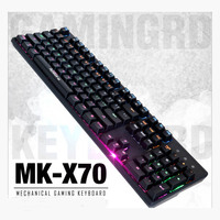 IMICE wired mechanical keyboard notebook PC universal color backlight waterproof 104 key cap for player gaming keyboard dota
