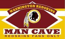 3X5FT Washington Redskins man cave flag Digital printing banner