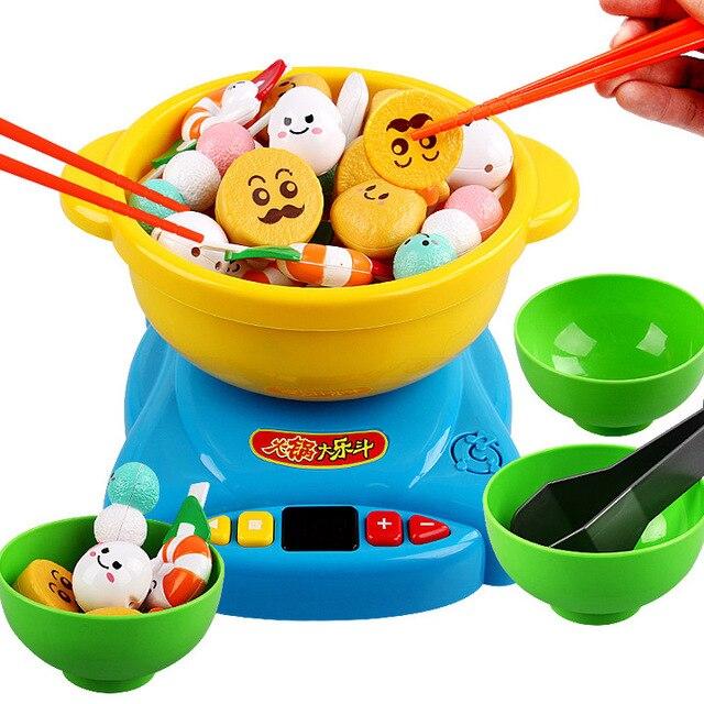 Us 4518 8 Offgorący Garnek Kuchnia Gotowanie Zabawki Udawaj Zagraj Gry Dla Dzieci Jeden Zestaw W Gorący Garnek Kuchnia Gotowanie Zabawki Udawaj