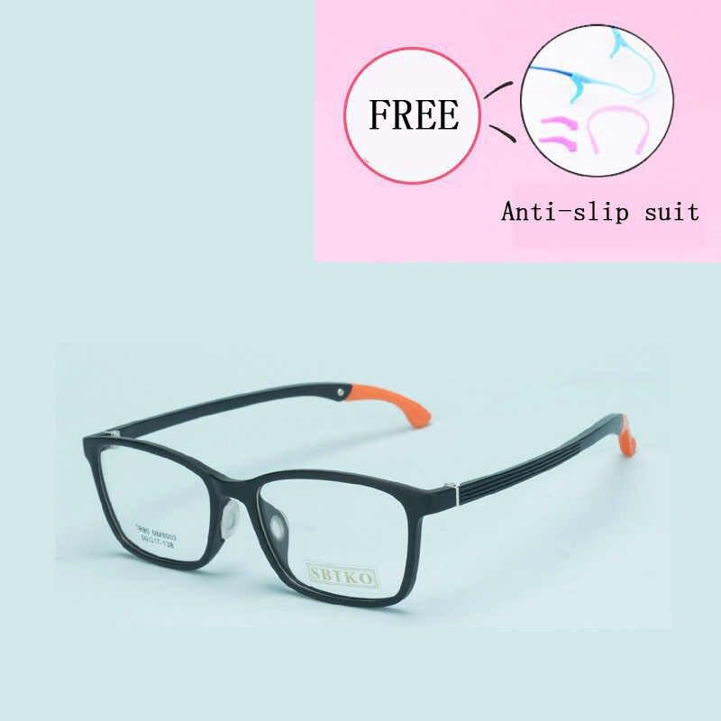 واضح أزياء شفافة نظارات إطار النساء شبه بدون شفة الإناث الصف نقاط الديكور النظارات مع عدسة بصرية 8003-31