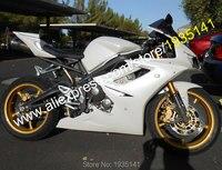 Лидер продаж, для Triumph Daytona 675 обтекатель 2006 2008 Daytona675 06 08 полный белый кузовов мотоцикл обтекатель (литья под давлением)