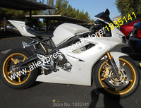 Hot Sales,For Triumph Daytona 675 Fairing 2006 2008 Daytona675 06 08 Full White Bodyworks Motorcycle Fairing (Injection molding)