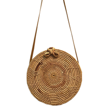 jewelry box Circle Rattan bag bali Beach baobao women Bohemian Handbags Summer 2017 Vintage Handmade Crossbody leather shoulder