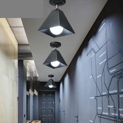 Nowoczesna lampa wisząca led żelazna lampa wisząca światła salony bary kawiarnia wisząca lampa w Wiszące lampki od Lampy i oświetlenie na
